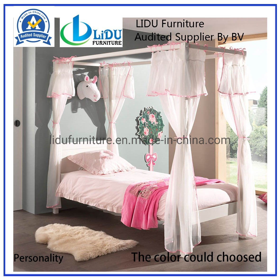 Picture of: Modern Wooden Bed Wooden Single Pine Bed Princess Bed Unique Children S Beds Compact Bunk Frame Day Bed China Wooden Bed Kid S Bed Made In China Com