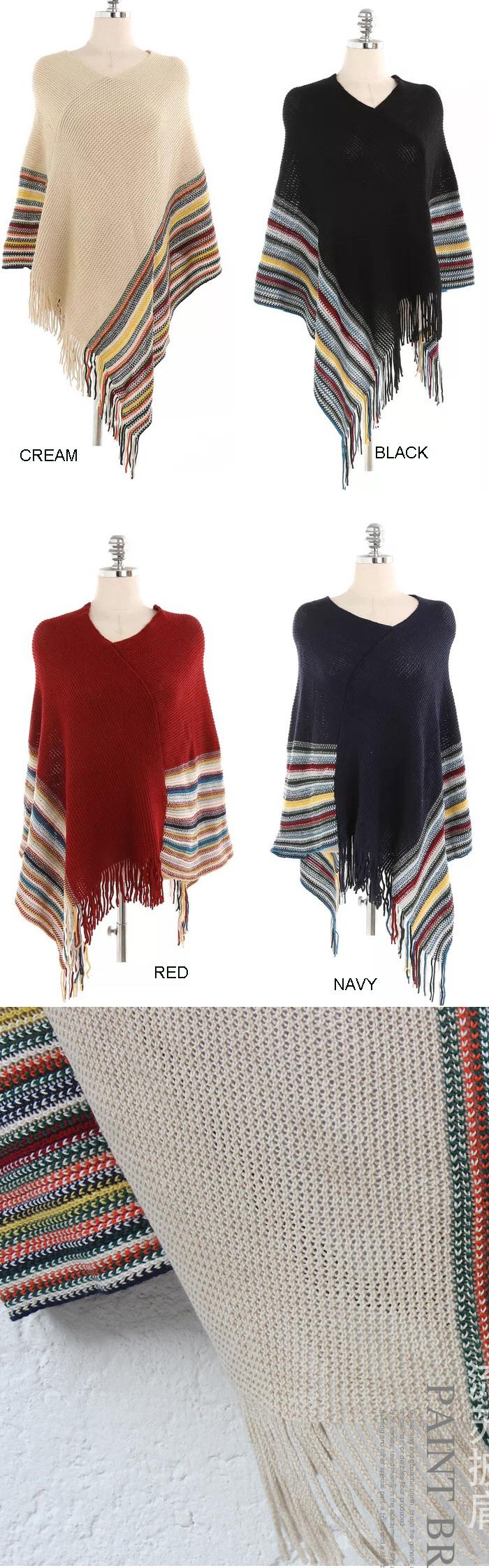 Bufanda de lana caliente mujer moda otoño invierno algodón Poncho ...