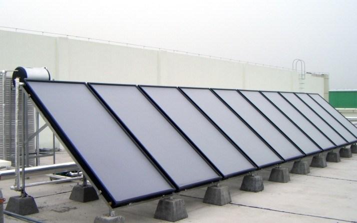Usine oem panneau solaire syst me thermique directe usine for Plaques solars termiques