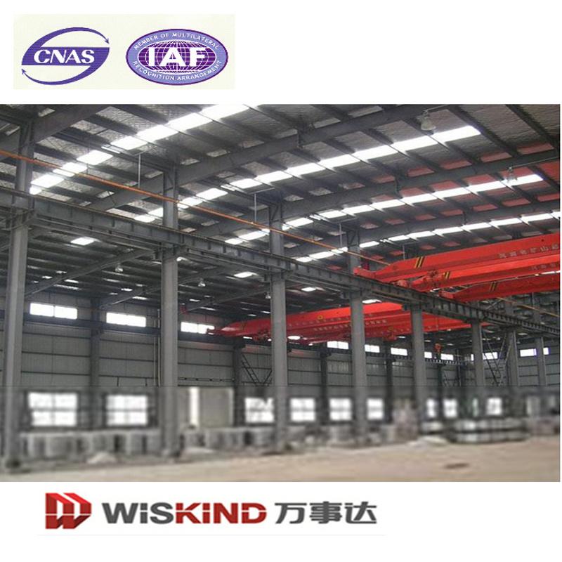 La luz de prefabricados de estructura de acero H viga de acero y de ...