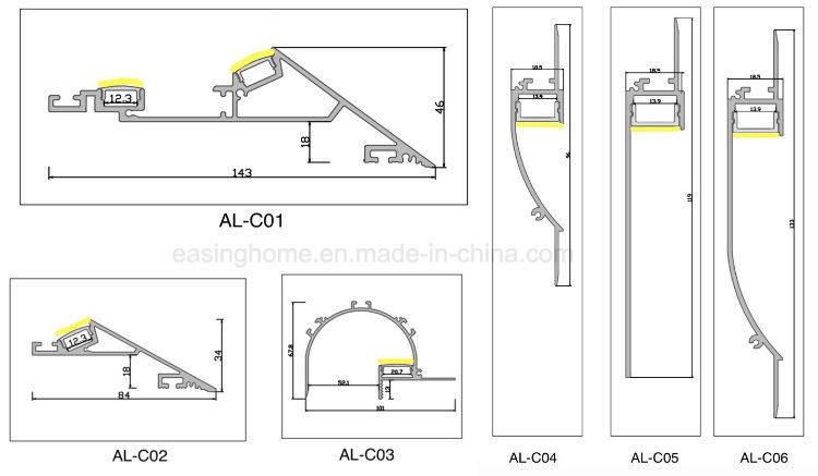 Indirect Lighting Ceiling Details
