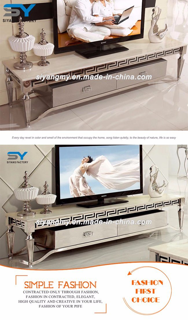 The White Glass Tv Stand For Living Room Furniture China Tv Stand