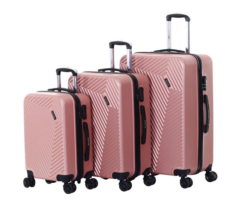 Light Weight Trolley Case, Fashion Design 3PCS Set Luggage (XHA131)