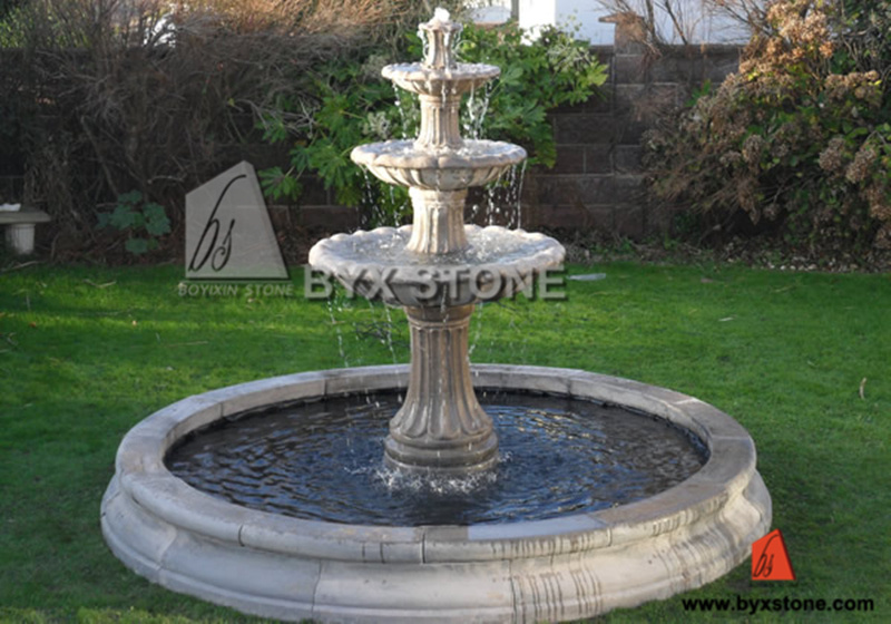 Marble granito stone elephant water garden fountain for - Fuentes de piedra antiguas ...
