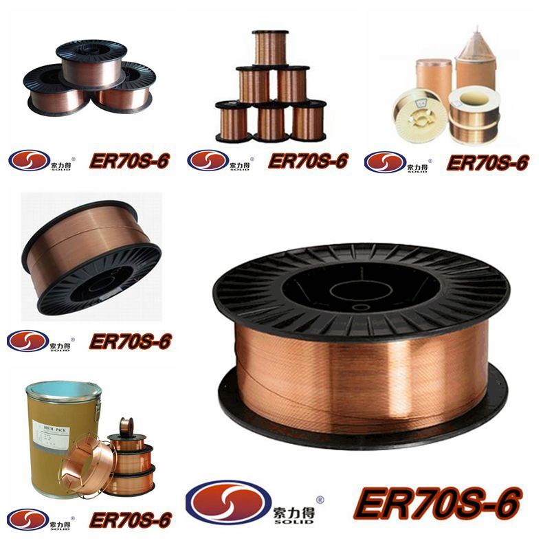 Shandong Solid Solder Er70s-6 Welding Wire - China Welding Wire ...