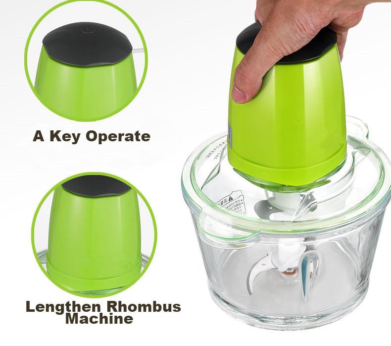 Smart Mini Electric Meat Grinder Food Chopper Blender for Kitchen Use
