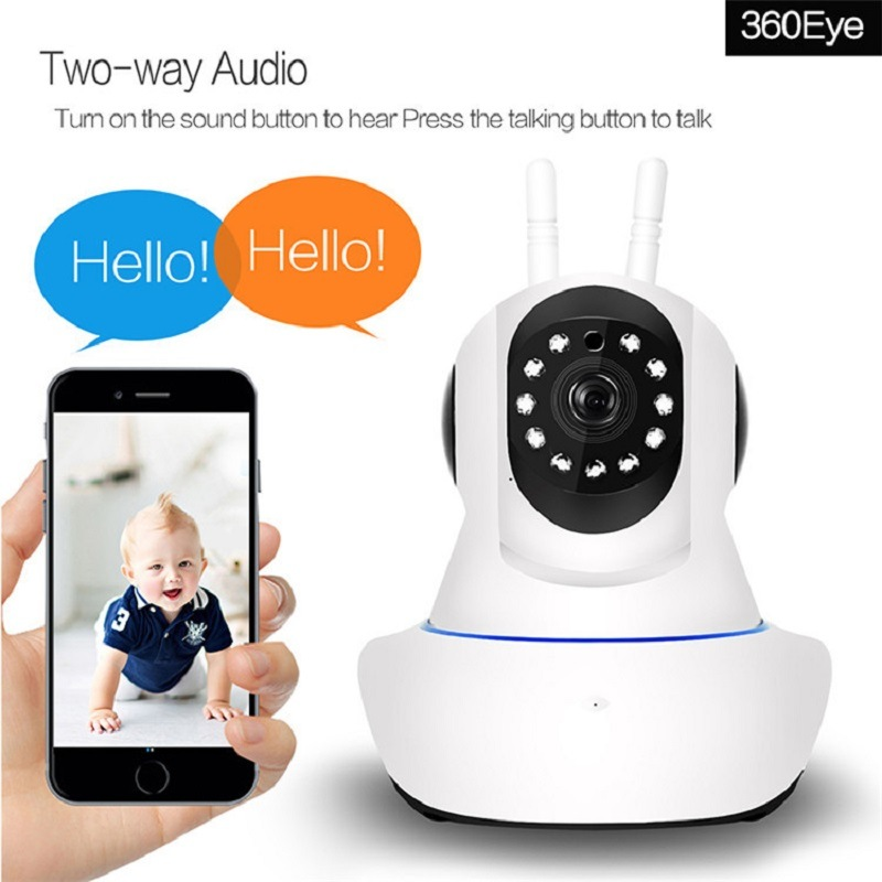 Best Price 360eye Mobile APP Remote WiFi Wireless Hidden CCTV Robot P2p IP  Camera