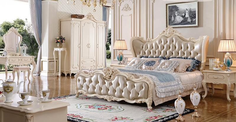 Nuovo tipo classico insieme di camera da letto di legno/mobilia ...