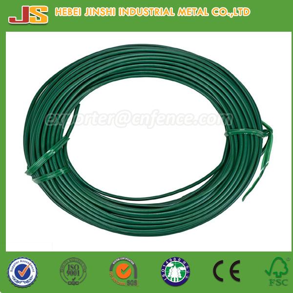 PVC Coated Gi Wire, PVC Coated Galvanized Iron Wire - China Plastic ...
