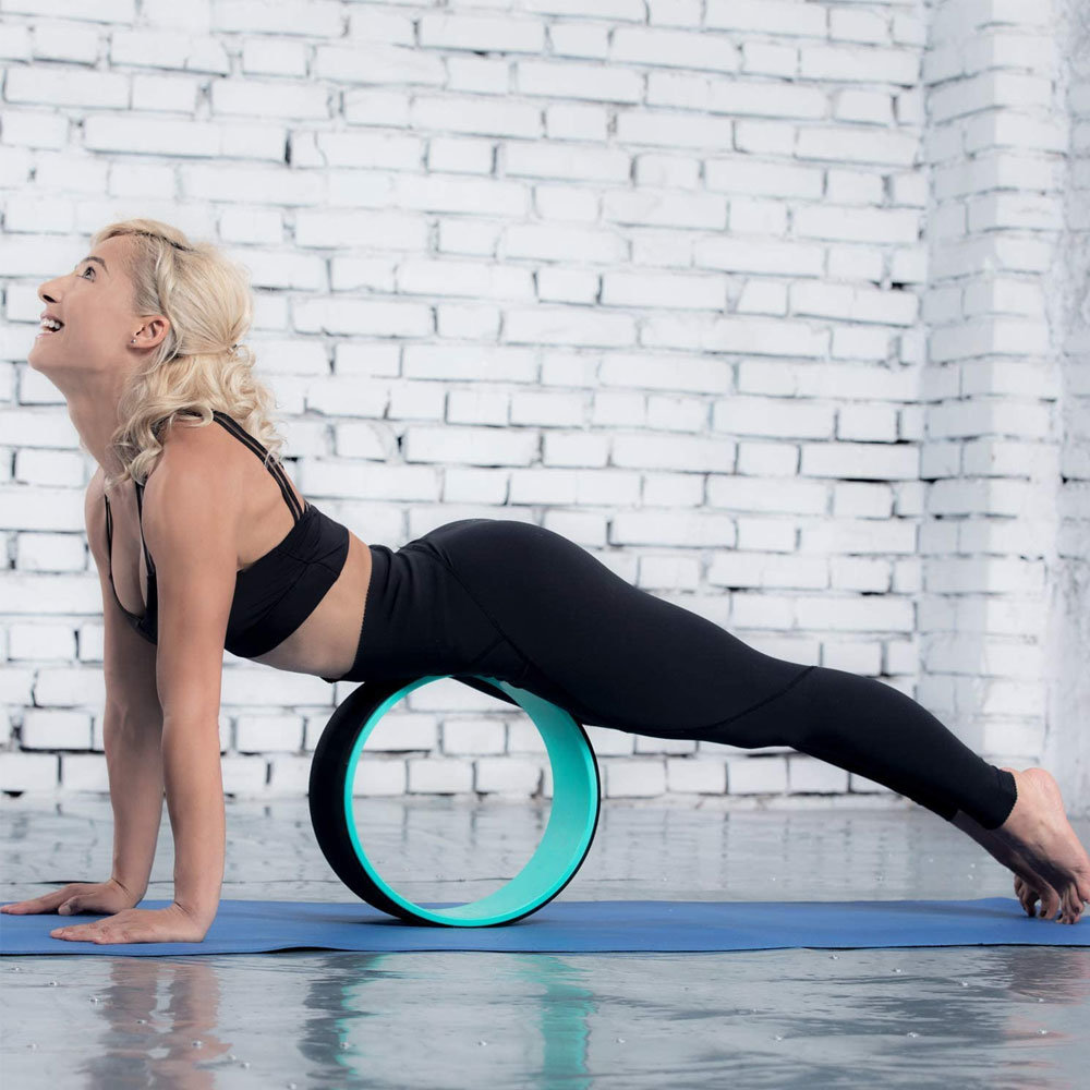 Back Roller Yoga Wheel for Muscle Relaxation   China Chirp Wheel ...