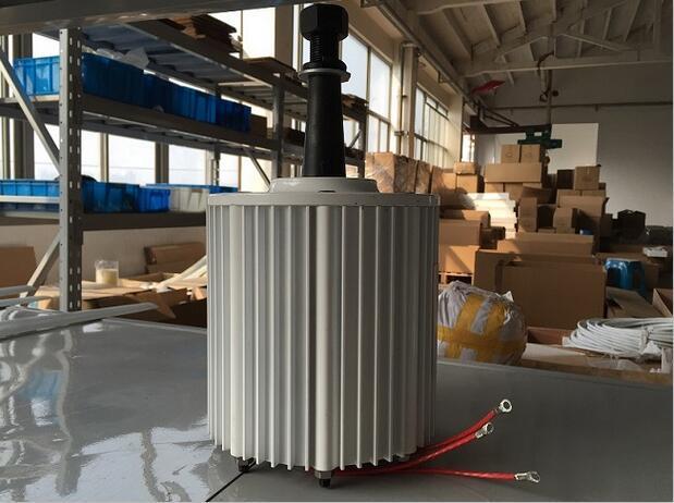 b0e0e2370ec 2KW 48V AC Baixa Rotação gerador síncrono de íman permanente para ...