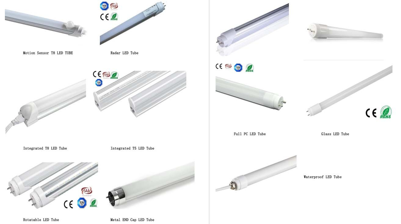 Ce RoHS Approval 150cm T8 LED Glass Tube