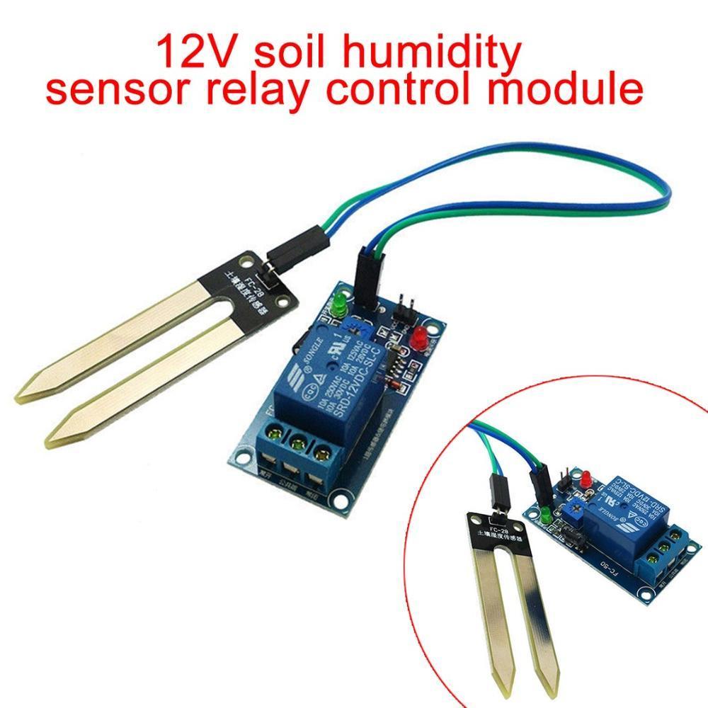 5pcs Soil Hygrometer Humidity Detection Module Soil Moisture Water Sensor