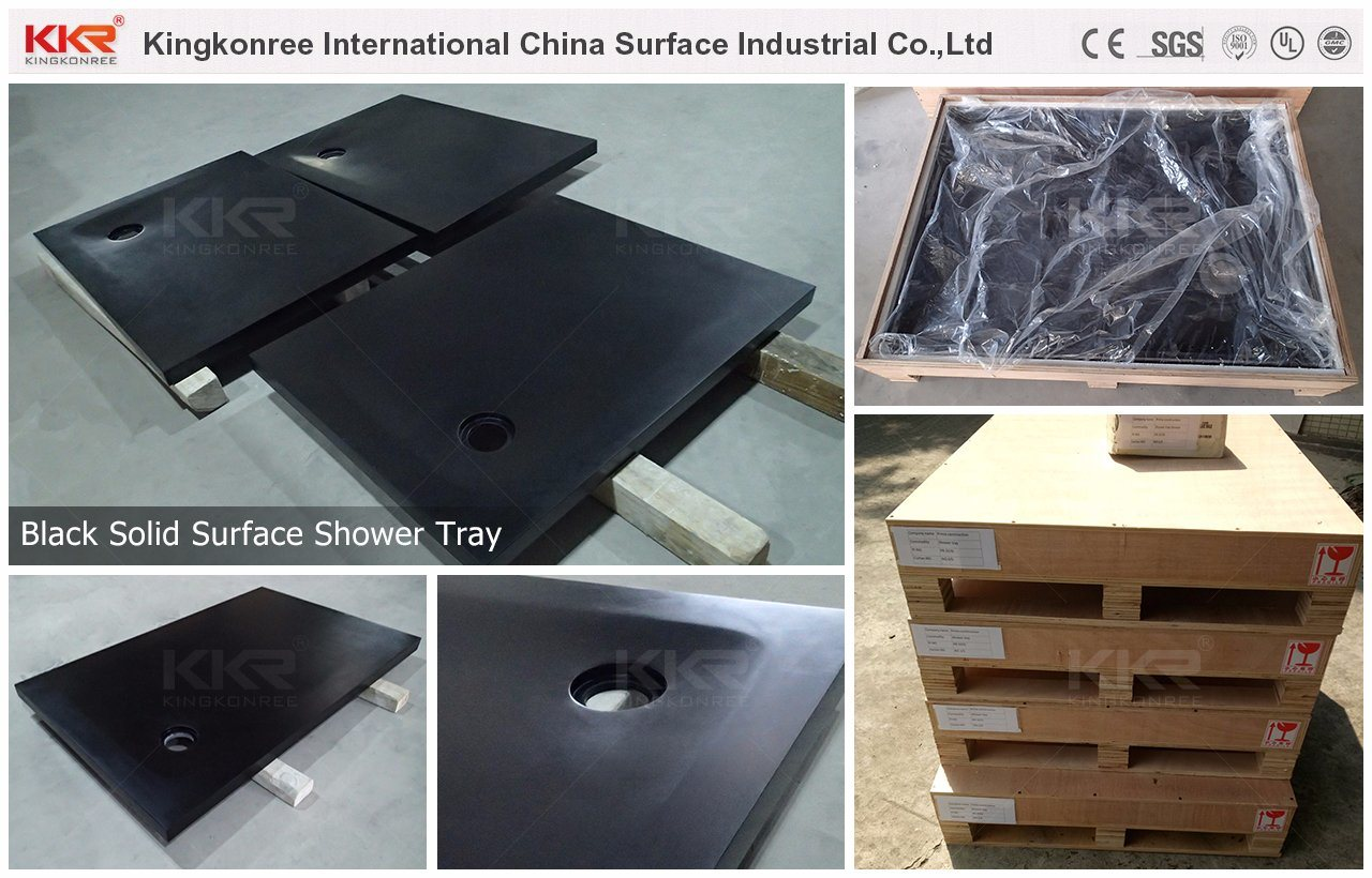 Sanitary Ware Shower Room Resin Stone Solid Surface Shower Tray