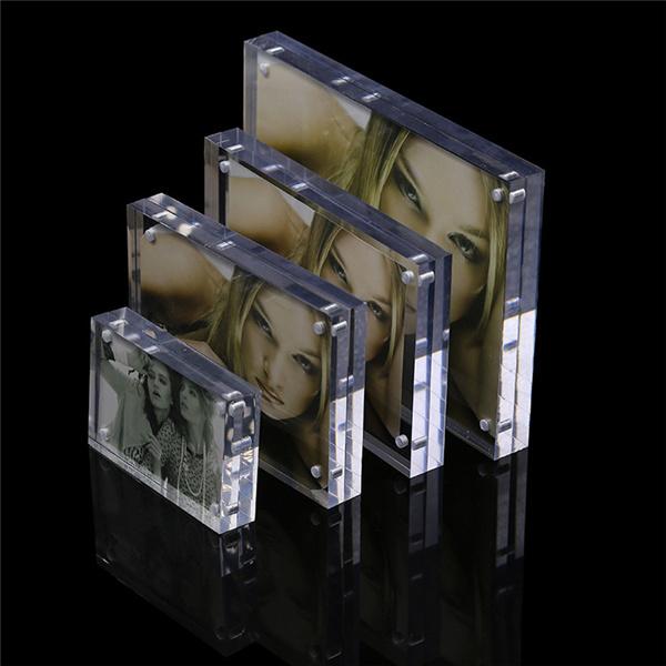 4 X 6, 5X7, 6X8, 10 X 12 de acrílico transparente de Imagen ...