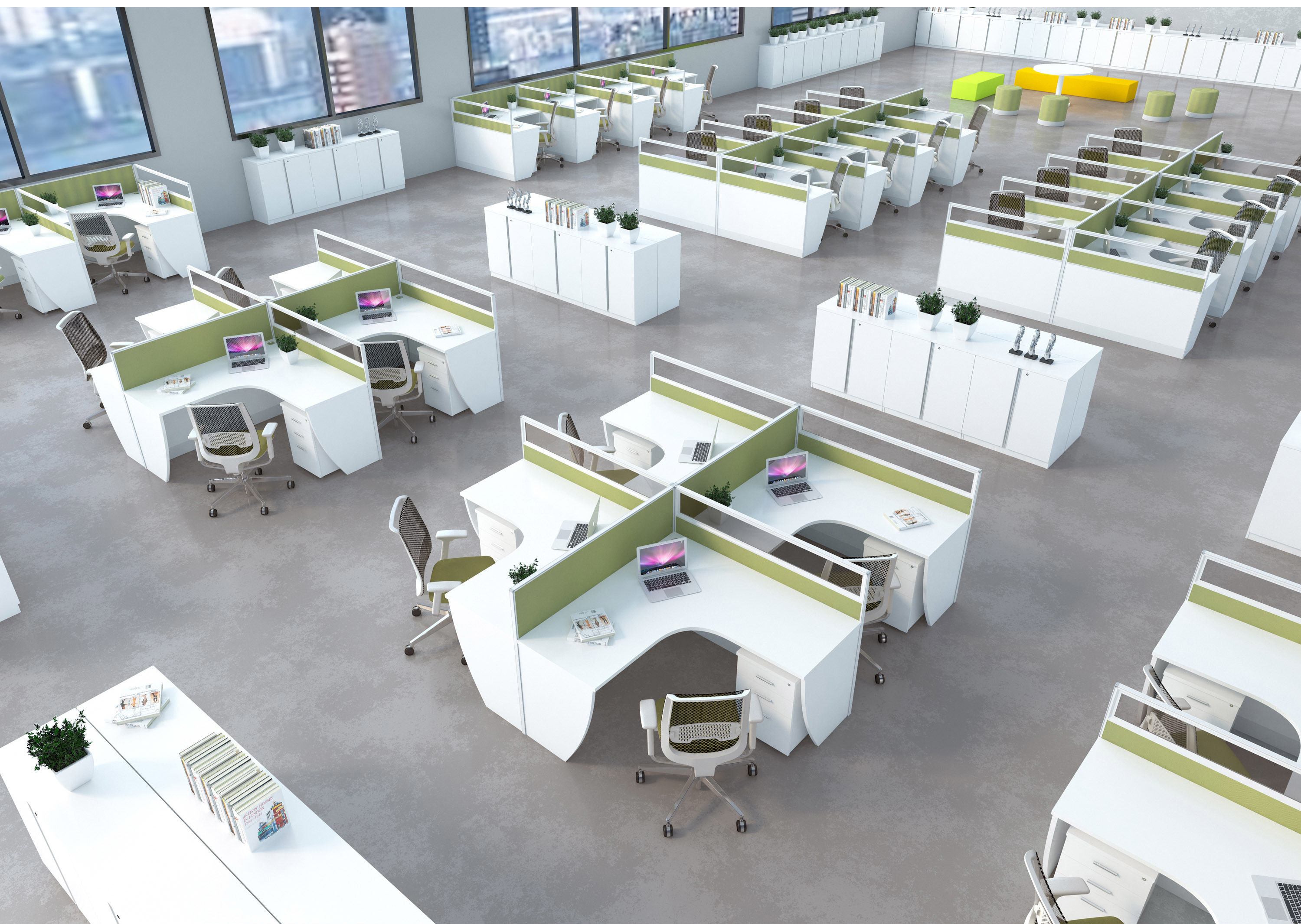 Office Cubicle Office Workstation With Wire Management China Office Cubicle Office Workstation Made In China Com