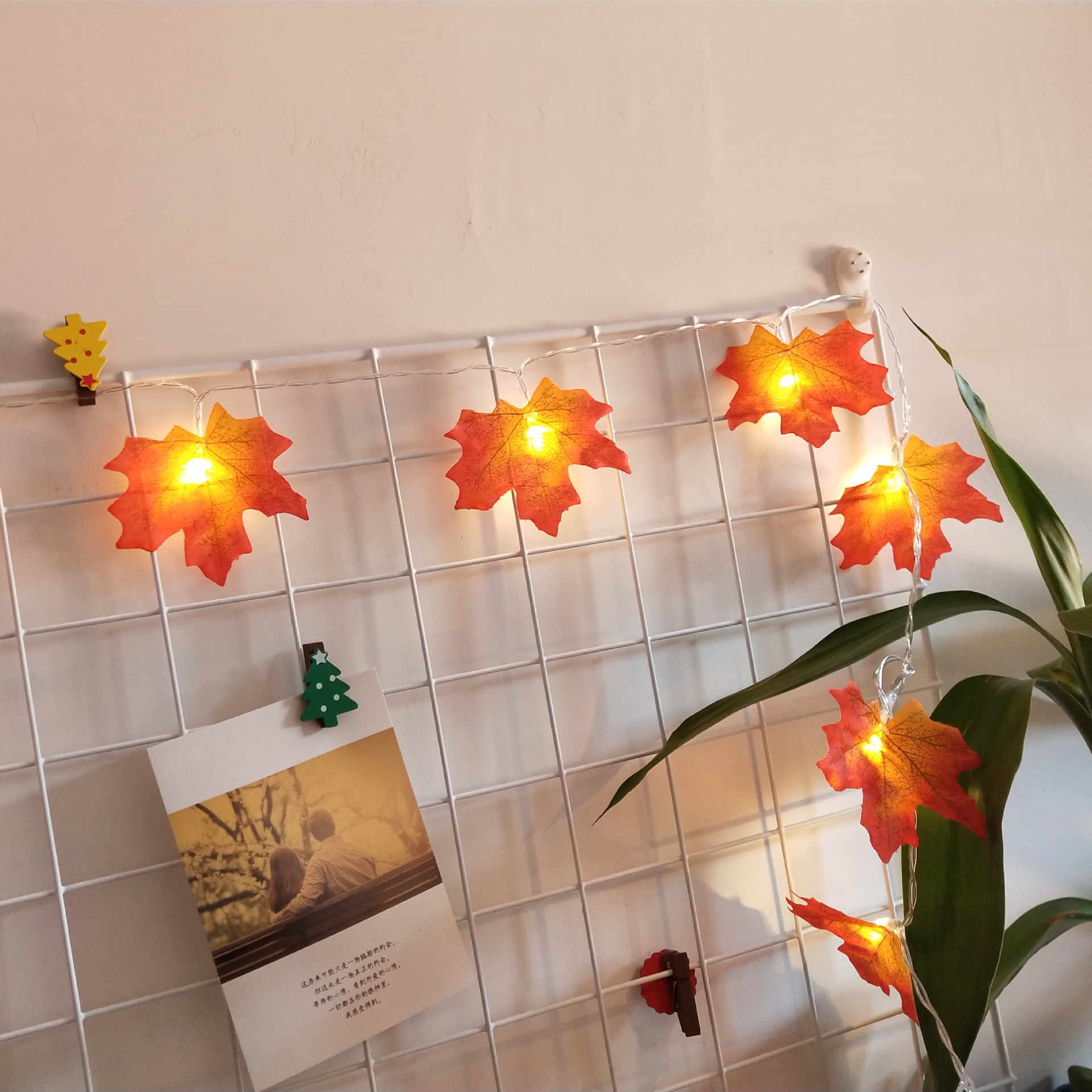Thanksgiving Decorations Gift Lighted Fall Garland Halloween String Lights China Decoration And Party Supplies Price Made In China Com