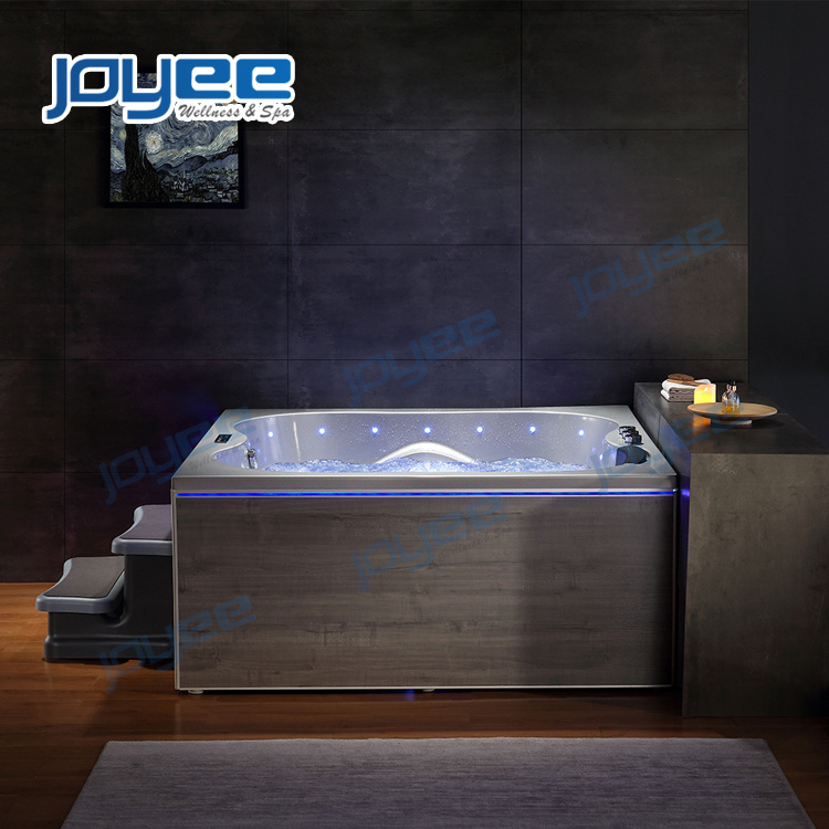 New Design Modern Bathroom Jacuzzi Indoor Whirlpool Massage Square Hot Tub Spa For 2 3 Persons China Whirlpool Bathtub Indoor Jacuzzi Made In China Com