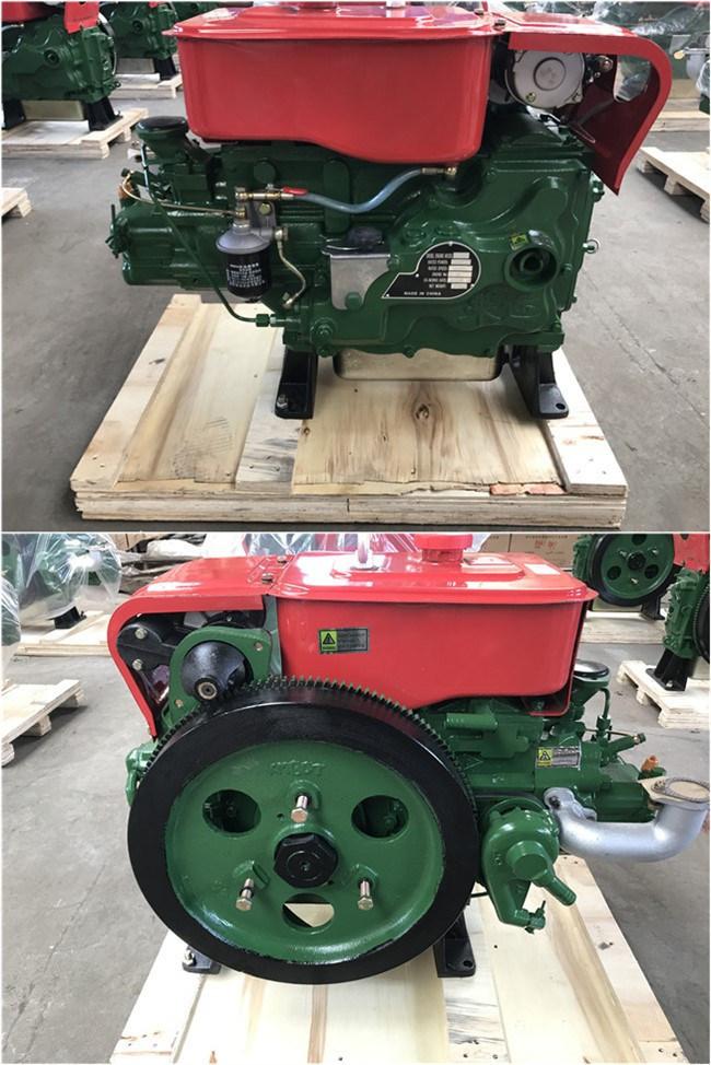 4-Stroke Single Cylinder Marine/Agricultural/Mills/Generator /Pump/Mining  Water Cooled Diesel Engine