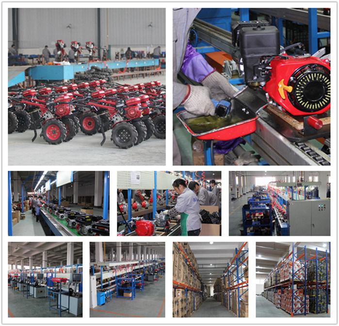 7HP Gasoline Rotary Cultivator for Agriculture Machinery