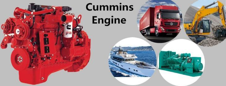 Brand New Water-Cooled Cummins Qsb6.7diesel Engine, Construction Machinery