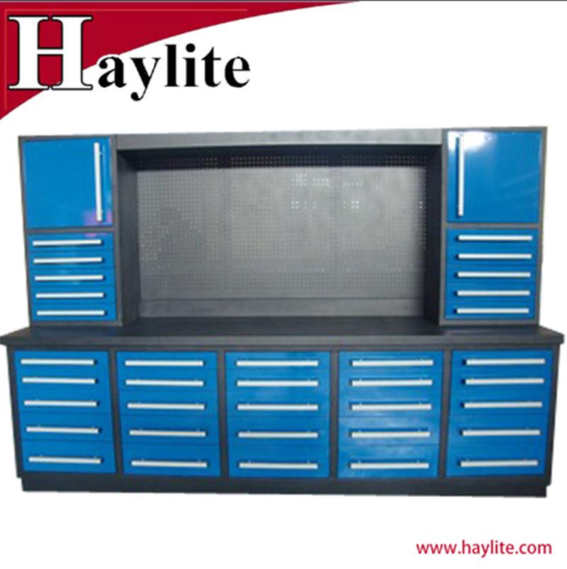 Metal Tool Storage Garage Work Use, Garage Workbench And Storage