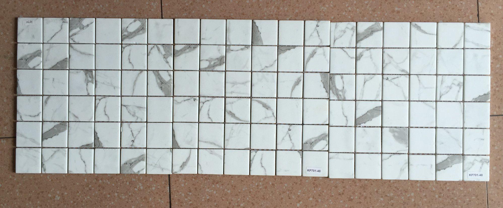 2018 Hot White Color USA Glass Mosaic Hexagon Tile for Wall ...