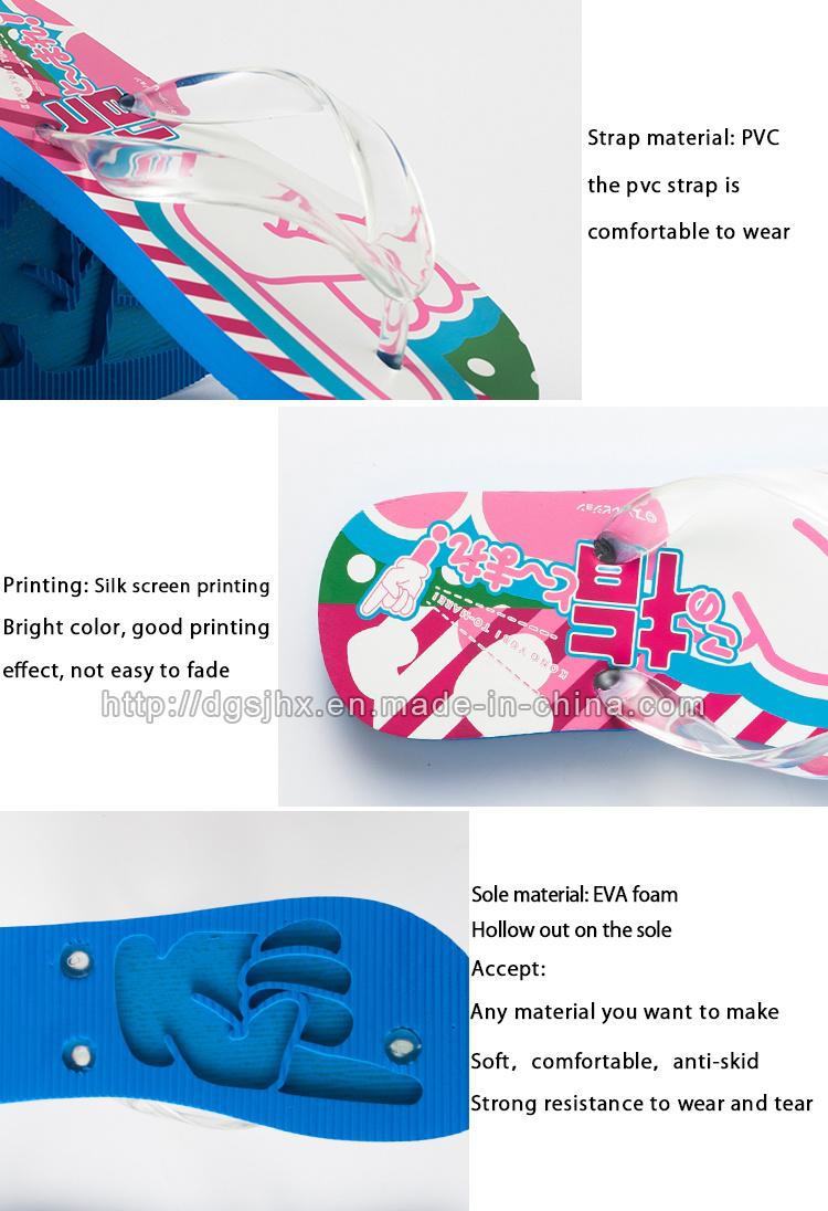 d6a622fd904019 Wholesale Great Printing Slipper EVA Foam Soft Sandals Bling Flip ...
