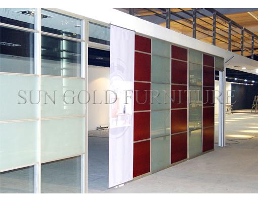 Bureau moderne panneau mural en aluminium extérieure de porte