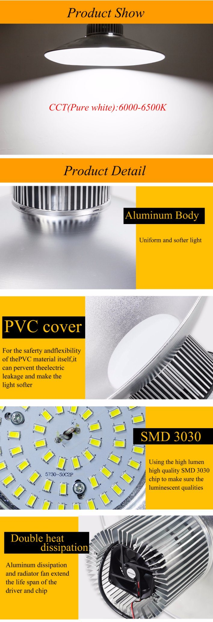 Aluminum LED Bulb Light LED Light