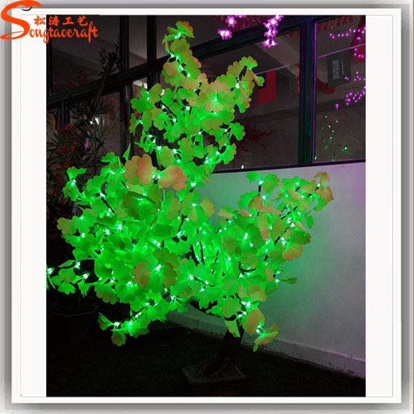 Ginkgo árbol artificial de LED para la decoración – Ginkgo árbol ...