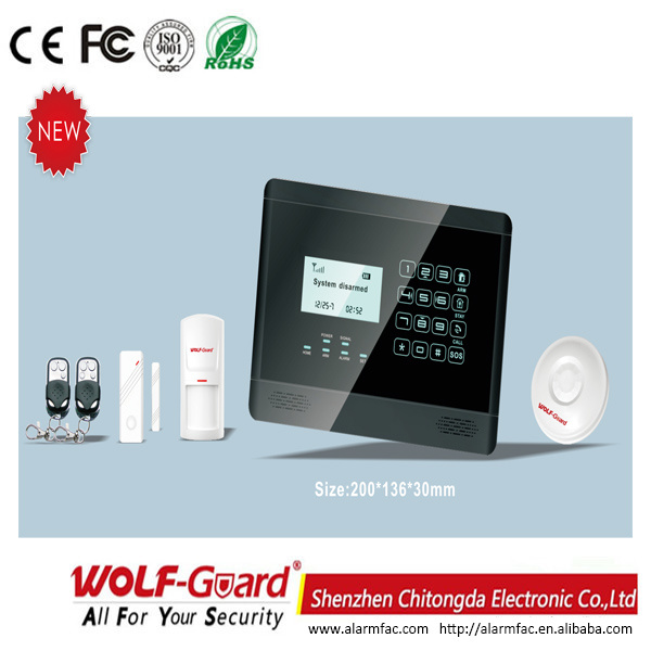 Smart Expo - New PSTN Auto Dial Home Wireless Alarm (YL-007K5) at ...