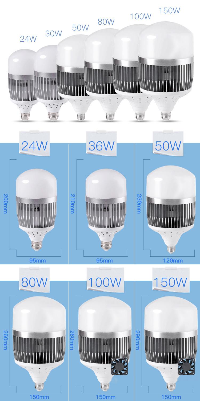 Aluminum LED Bulb Light LED Light