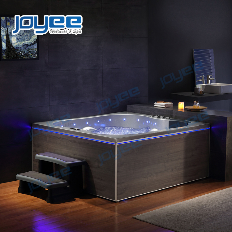 Joyee Indoor Jacuzzi Spa Bath 2 Person Hot Tub For Bathroom China Whirlpool Bathtub Indoor Jacuzzi Made In China Com