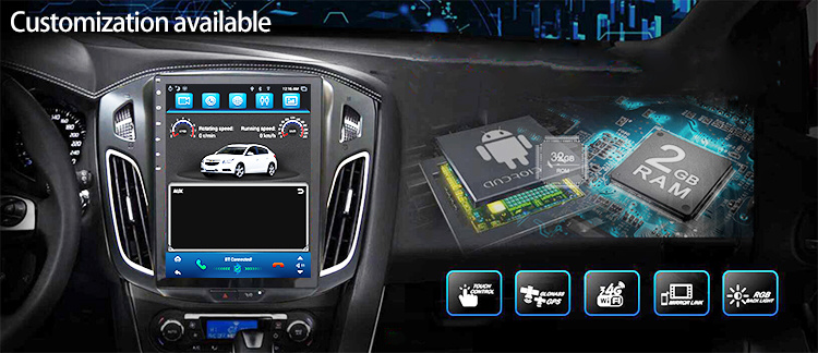Universal Toyota Android Stereo Multimedia Player