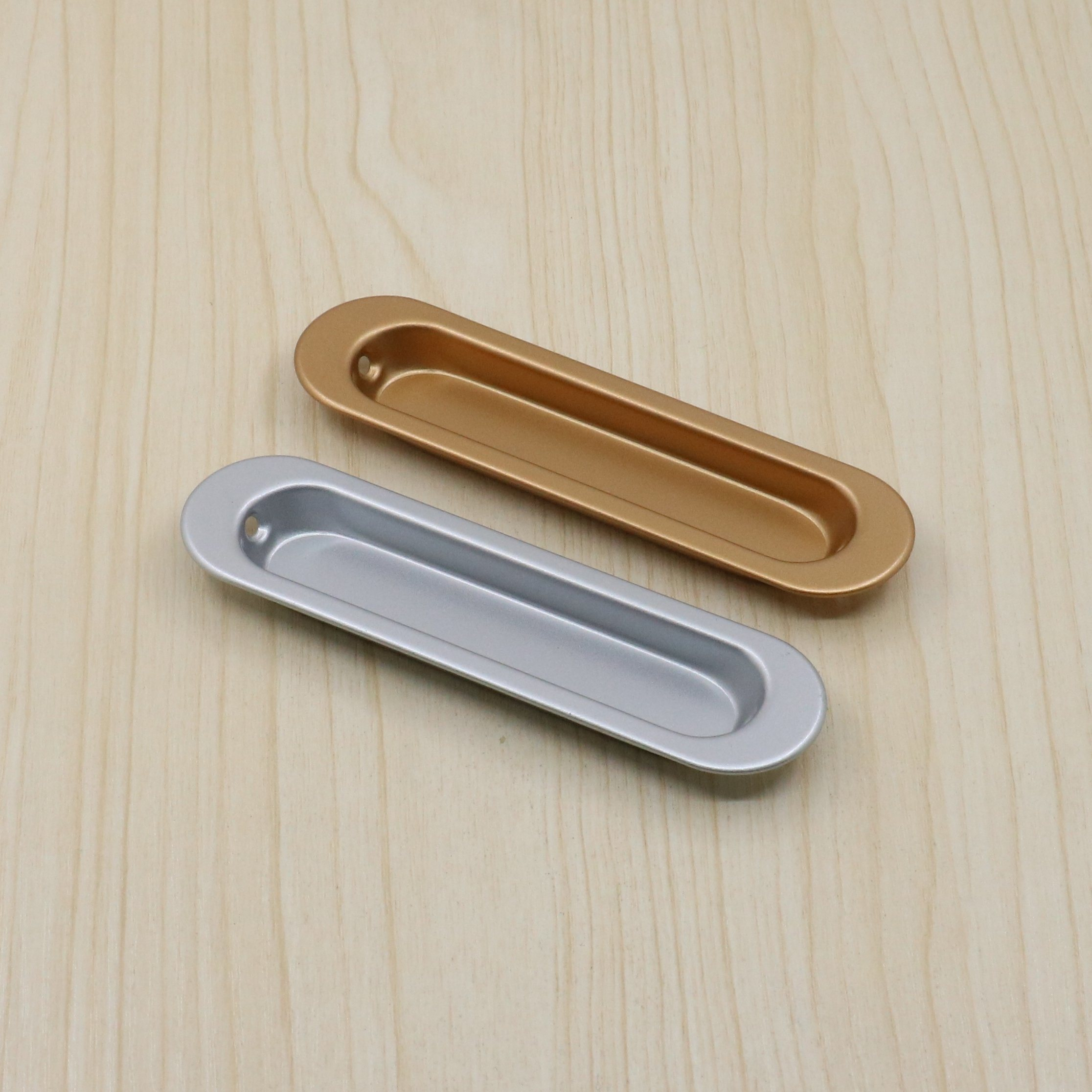 Picture of: Rectangular Flush Recessed Sliding Door Pull Handles China Pulley Wheel Sliding Door Roller Made In China Com