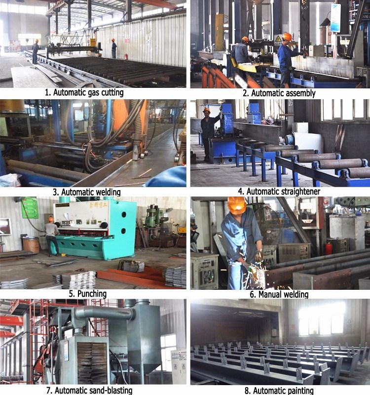 Prefabricated Steel Metal Material Steel Structure Building (Steel Construction Workshop)