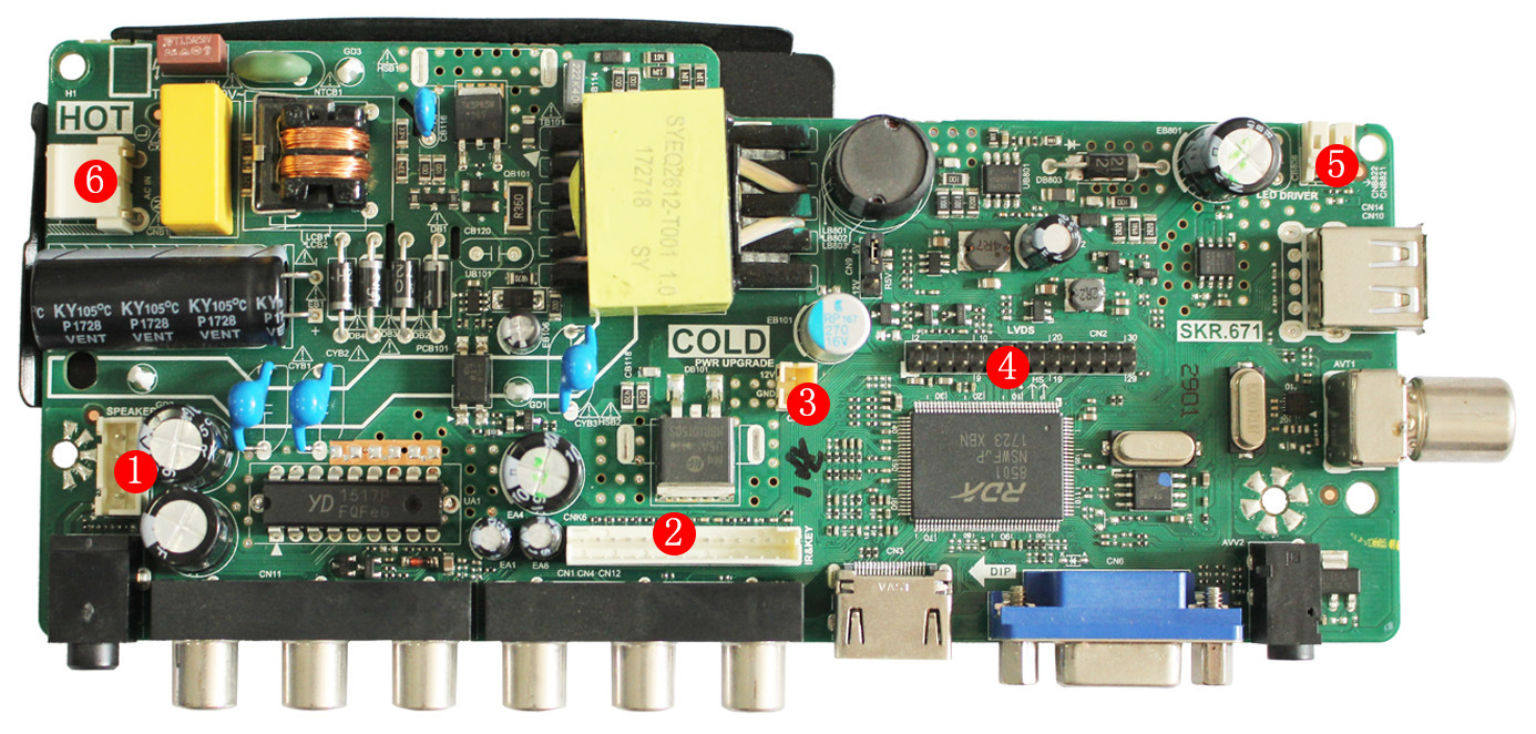 Tv Board Led D Lhec Vhls Ledarq Rca Driver With Circuit Boardsled Boardled Pcb Buy Light Beautiful Position
