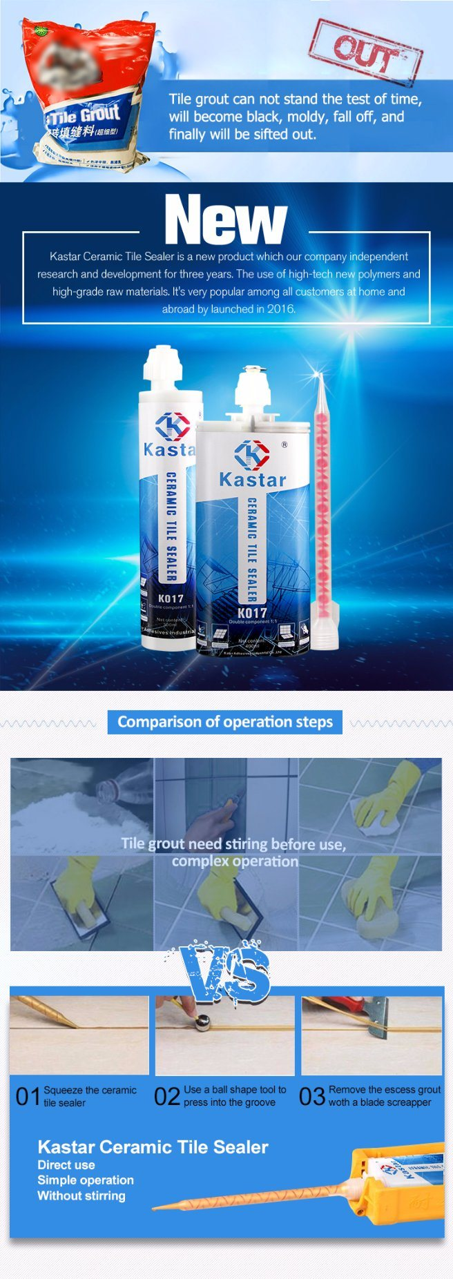 Wholesale Seaming Floor External Tile Construction Gap Adhesive for ...