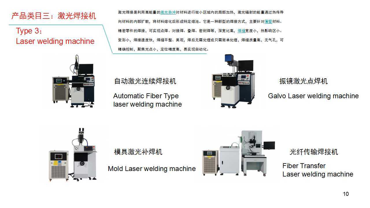 Laser Welding Machine with Movable Table