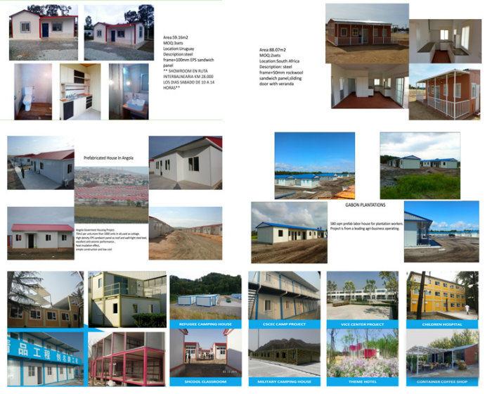 Lebanon Luxury Prefab Tiny Steel Frame House Plans Design - China ...
