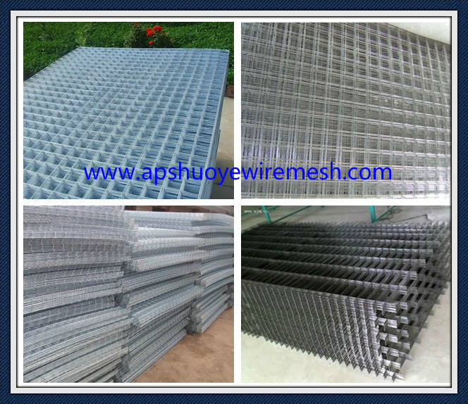 Galvanized PVC Coated Welded Wire Mesh Fence for Security Garden ...