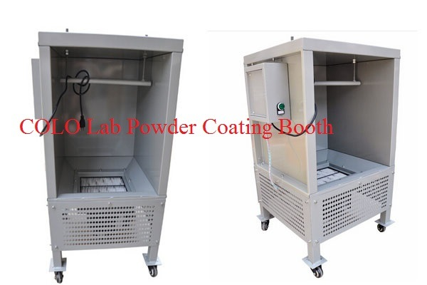 lab small batch powder coating painting equipment china powder