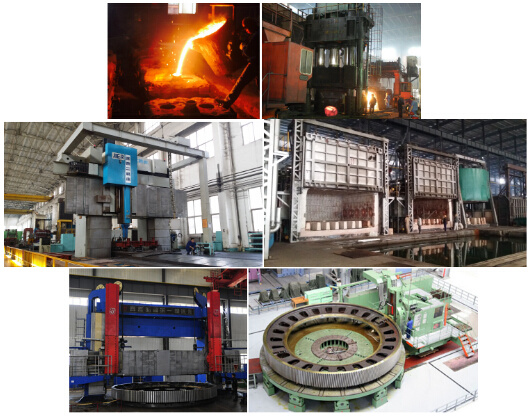 Large Sized Forging & Casting Parts with All Kinds of Material