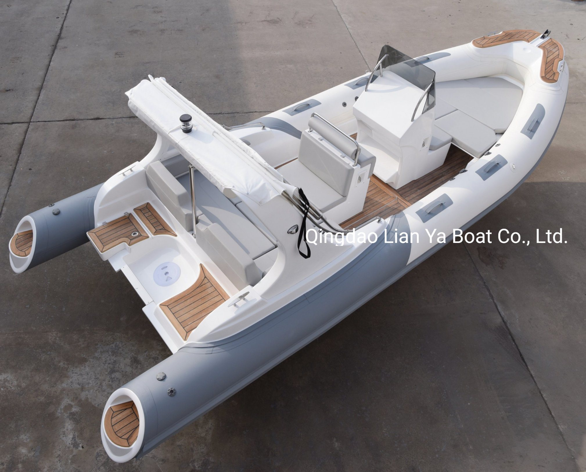 Liya 6.6meter/22feet Rib Boat Hypalon Large Inflatable Rigid Boat Ce