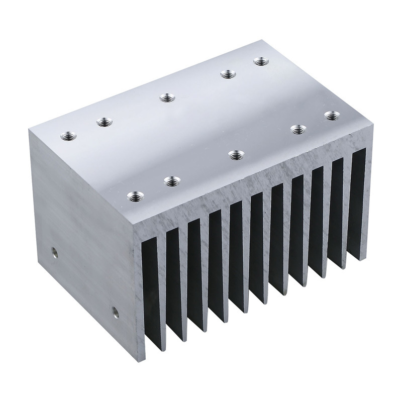 New Design Aluminum Extrusion for Heat Sink with Anodizing & CNC Machining