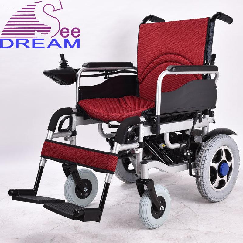batterie au lithium de pliage de fer fauteuil roulant lectrique de puissance batterie au. Black Bedroom Furniture Sets. Home Design Ideas