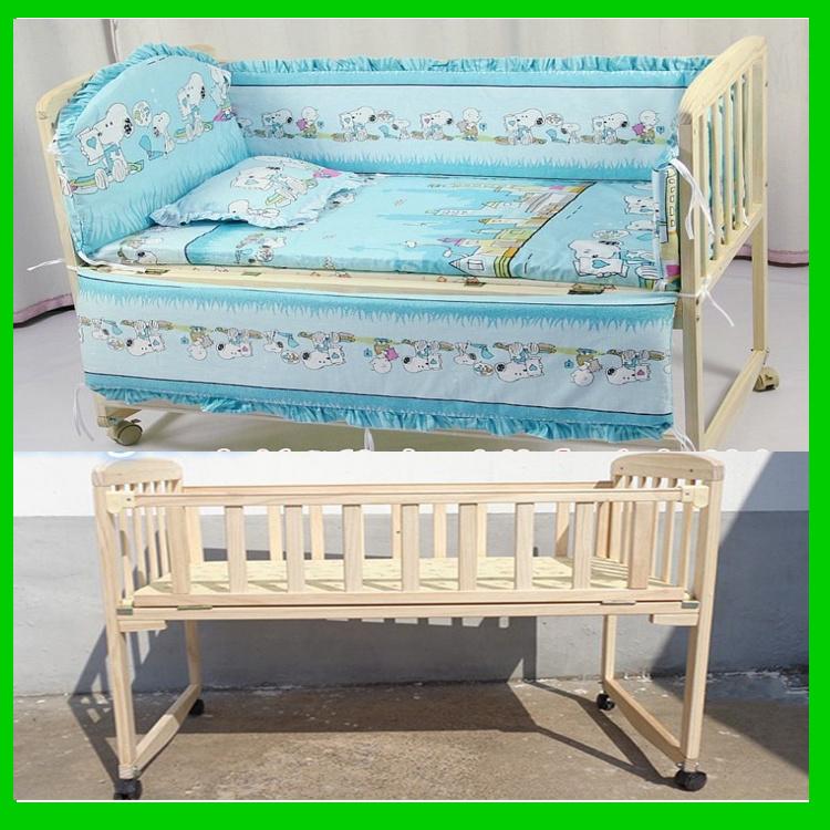 Madera Madera bebé muebles para niños Cuna cama cuna – Madera Madera ...