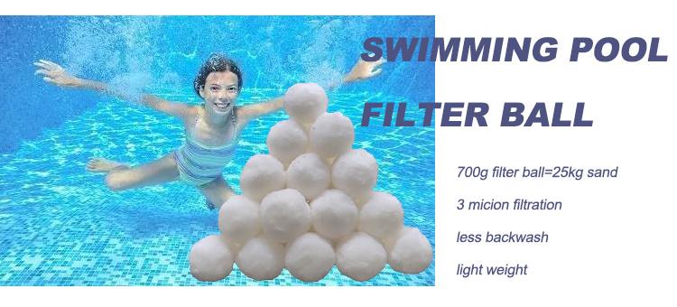 Aquarium Equals 25kg Pool Filter Sand YANSHON 700g Reusable Filter Balls for Swimming Pool Eco-friendly Filter Balls Polyethylene Filter Balls for Fish Tank