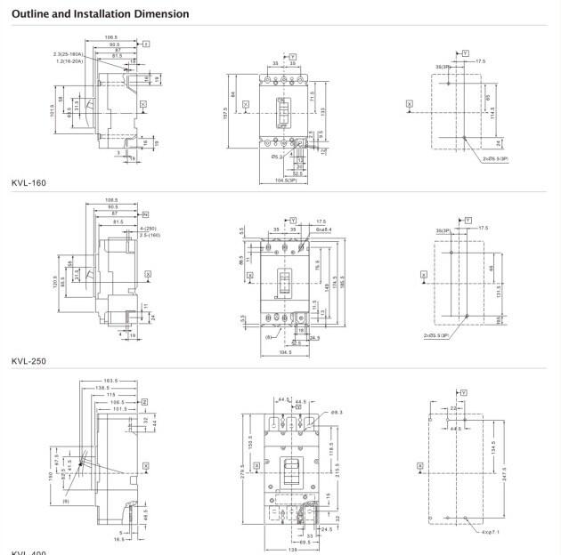 la serie vl disyuntor de caja moldeada  mccb   u2013 la serie